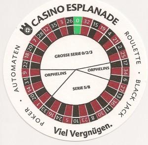 spielbank esplanade roulette
